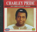 Charley Pride : 24 Greatest Hits CD