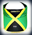 Jamaica Flag - Visor (Hat)