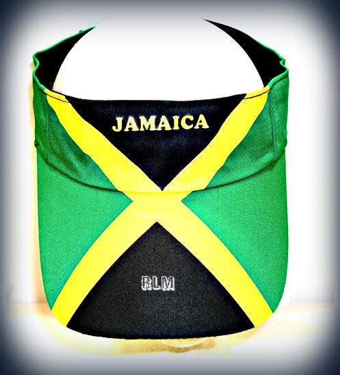 Jamaica Flag - Visor (Hat)