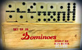 Double Six : Dominoes Set (Wood Box)