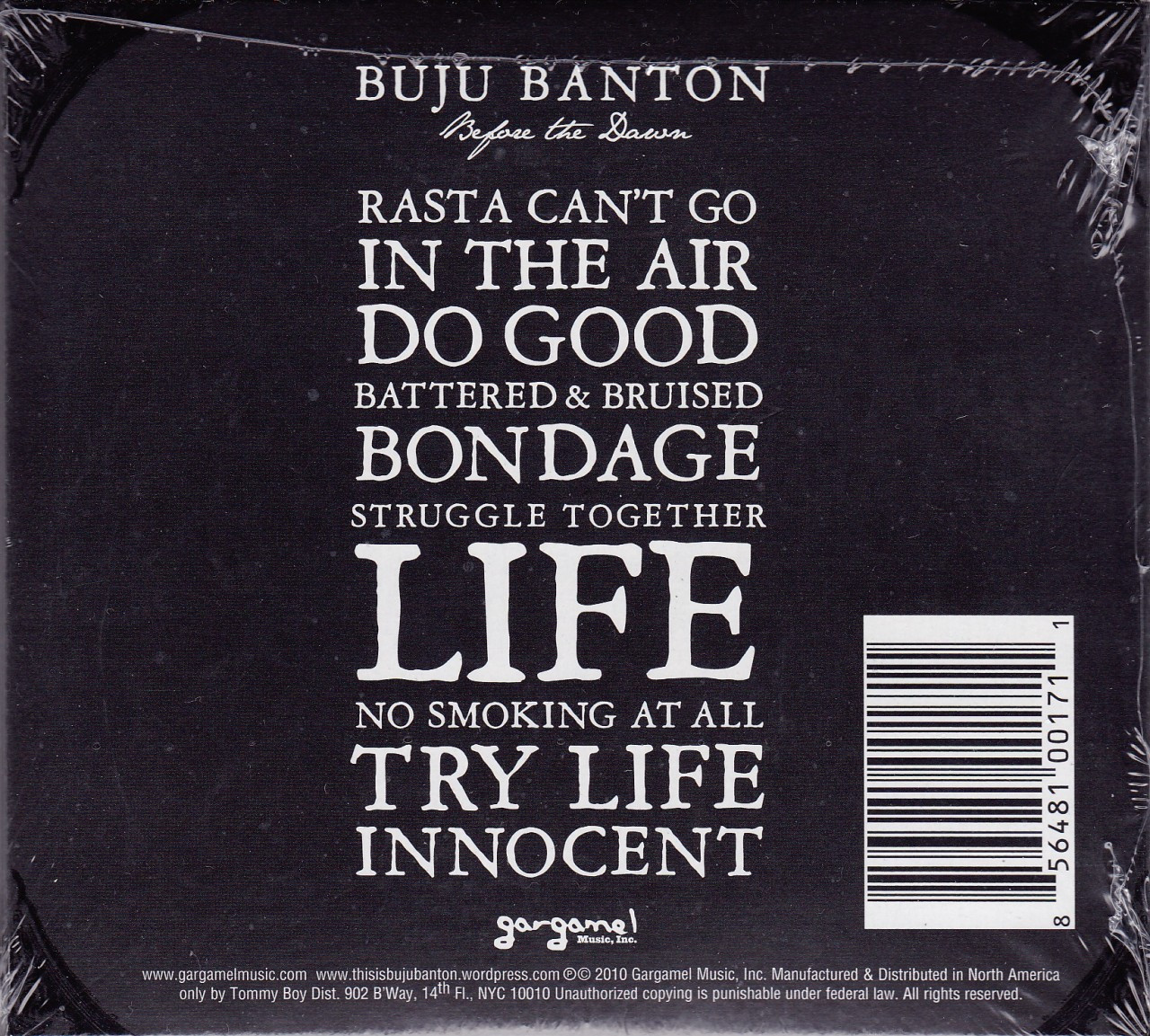 Buju Banton   Before The Dawn CD
