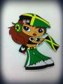 Jamaica Flag : Magnet Girl