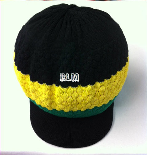 Knitted Jamaica - Tam (Black 2cc3eac84aac