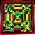 Ludo Board & Draughts Board : Jamaica National Heroes (Custom - Large)