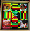 Ludo Board & Draughts Board : Jamaica National Dish (Custom - Large)