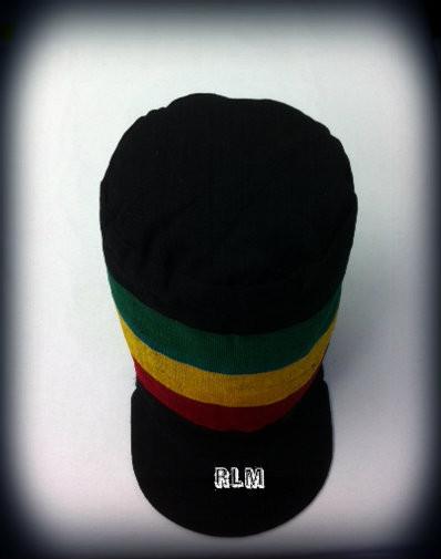 Rasta - Dread   Large Peak - Cloth Hat - Reggae Land Muzik Store f2aeb42b4a06