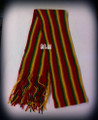 Rasta Scarf : With Rasta Stripes
