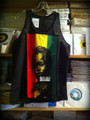 Rasta Baby Vest/Tank Top - T Shirt (Black)