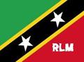 St. Kitts & Nevis : Flag (3' x 5')
