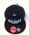 Kush - Snapback : Ball Cap/Hat (Black)