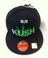 Kush - Snapback : Ball Cap/Hat (Black) 2