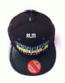 Jamaica - Snapback : Ball Cap (Black & Glossy Green)