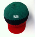 Knitted : Rasta Hat (Black, Red And Green)