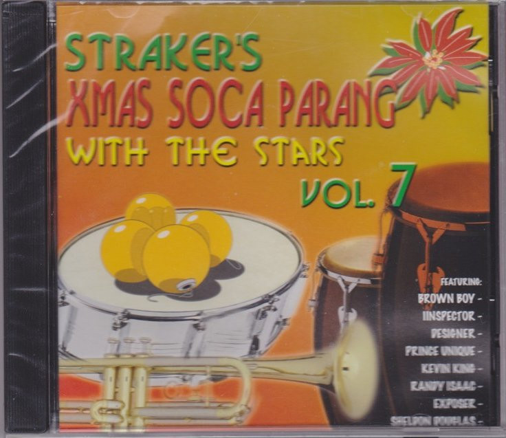 straker s xmas soca parang with the stars vol 7 various artist cd