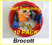 10 PACK - Self Switching Split Charge Relay Kits 12V / 30Amp