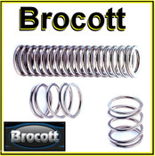 2 x Compression Springs - 15 x 8.6 x 0.5mm