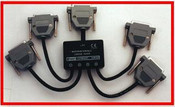 4 Channel LPT Splitter Interface For PC