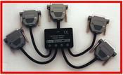 4 Channel LPT Splitter Interface For PC