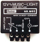 Audio Controlled Music Light Flasher - 12V / 50Watt