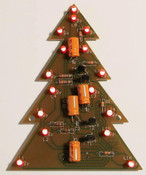 Christmas Tree 16 LED Display Kit