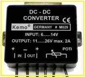 DC-DC Voltage Converter 6>14DC / 11>26DC - 2 Amp