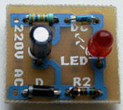 Flashing LED - 240V~