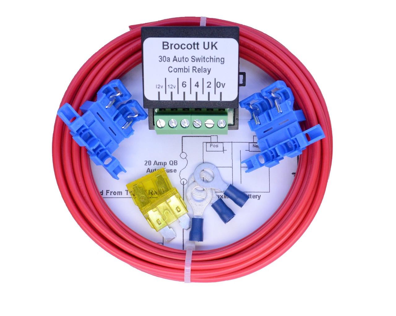 Super Voltage Sensing Split Charge Relay Kit Wiring 101 Mentrastrewellnesstrialsorg