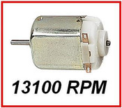 Micro Motor PCD Mountable, 13100 rpm, 1,5 - 4,5v