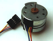 Mini Stepper Motor 40 Step Bipolar, 4 Lane - RDM37