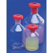 Reagent Bottle 100ml - Clear With Narrow Neck & Stopper