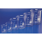 Simax Low Form Beakers - 100ml - Pack of 10