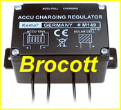Solar & Charge Regulator - 5 Amp (60 Watt)