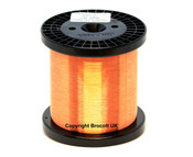 0.090mm, 39 AWG Enamelled Copper Magnet Wire - Solderable (500g)