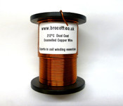 0.25mm (30AWG) Enamelled Copper Winding Wire (500g)
