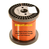 2.00mm Enamelled Copper Winding Wire (1kg)
