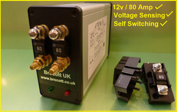 Brocott 80 Amp Relay Front Facia