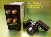 Voltage Sensing Self Switching Split Charge Relay 12V / 125 Amp