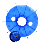 Frame Size 80 Electric Motor Cooling Fan Replacement (Dia 132mm x H 26mm)