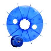 Frame Size 160 Electric Motor Cooling Fan Replacement (Dia 298mm x H 56mm)