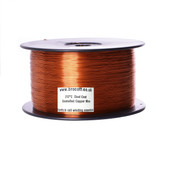 0.63mm Enamelled Copper Winding Wire, Dual Coat (2kg Spool)