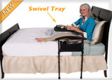 Independence Bed Table Safety Rail and Swivel Tray by Stander