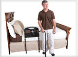 Mobility Bed Safety Rail with Swing Out Arm by Stander | Mobility Bed Safety Rail