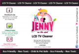 LCD & Plasma TV Screen Cleaner by Jenny on the Spot