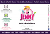 Marble and Granite Cleaner by Jenny on the Spot