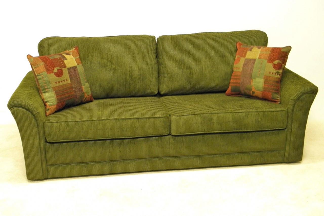 Harmony Convertible Sleeper Sofa with Premium Memory Foam Mattress