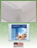 Ultra Soft Custom Fit Mattress Pad by Innomax mattress pads, innomax, ultra soft, custom fit, the linen resource