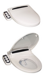 Olympia Bidet HB-4000-EW Elongated Seat Attachment  olympia, bidet seats, bidet seat attachment, elongated, white