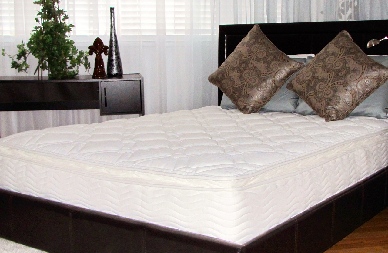 Orthotherapy 10 Inch Pillow Top Spring Mattress Orthotheraphy