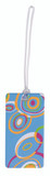 Belle Hop Circles Fashion Luggage Tag by LCI Brands|lci brands, belle hop, luggage tag, circles, fashion tag