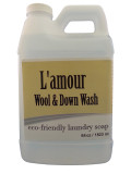 L'Amour Wool and Down Natural Laundry Detergent (Lamour_WoolDown_64oz)